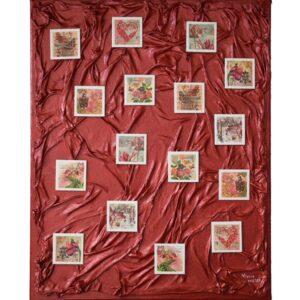 Domborműves kép Paverpol technikával - 17 kép